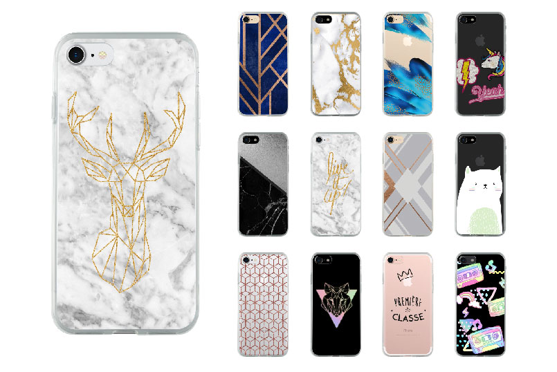 coque fashion pour iPhone 8