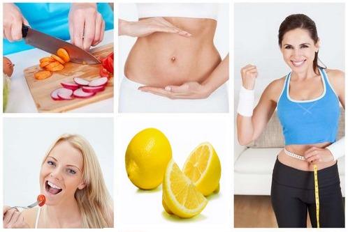 Mincir avec le citron